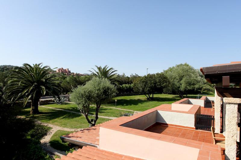 Vistas desde la terraza Alquiler Apartamento 53727 Porto Rotondo