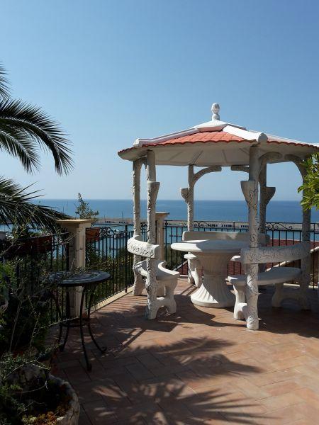 Vistas desde la terraza Alquiler Villa 54358 Capo d'Orlando