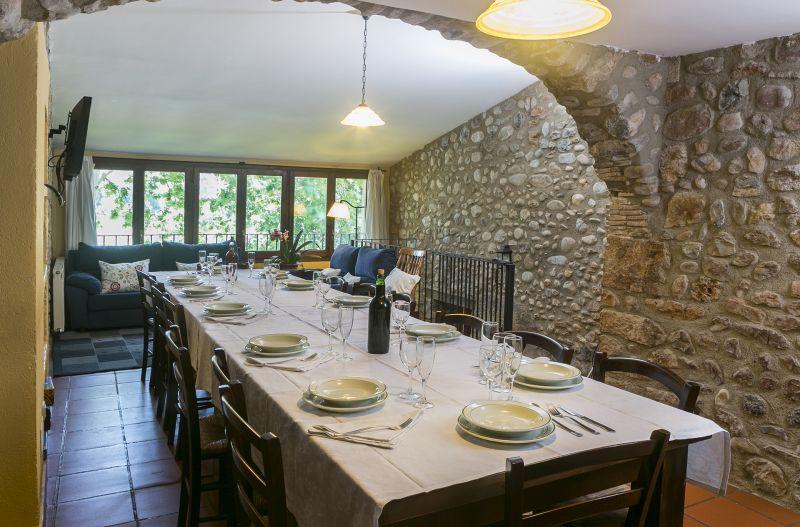 Comedor Alquiler Casa rural 55342 Figueras