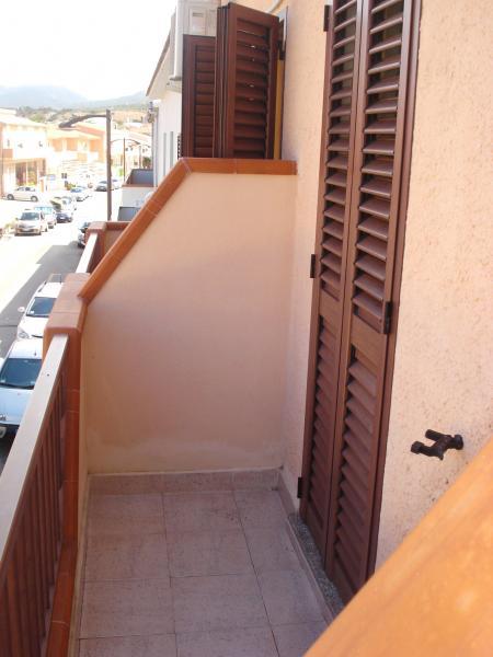 Vistas desde el balcón Alquiler Estudio 55748 Isola Rossa
