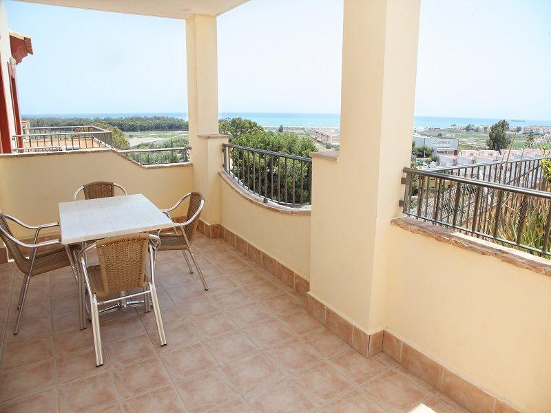 Terraza Alquiler Apartamento 55866 Vera