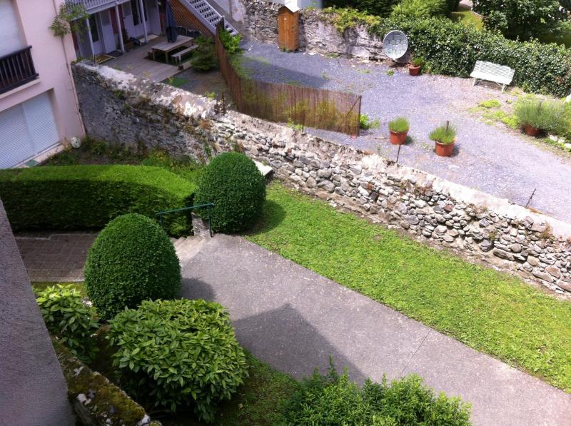 Vistas desde el balcón Alquiler Apartamento 56119 Cauterets