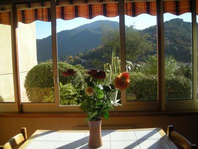 Vistas desde la terraza Alquiler Estudio 56172 Am�lie-Les-Bains