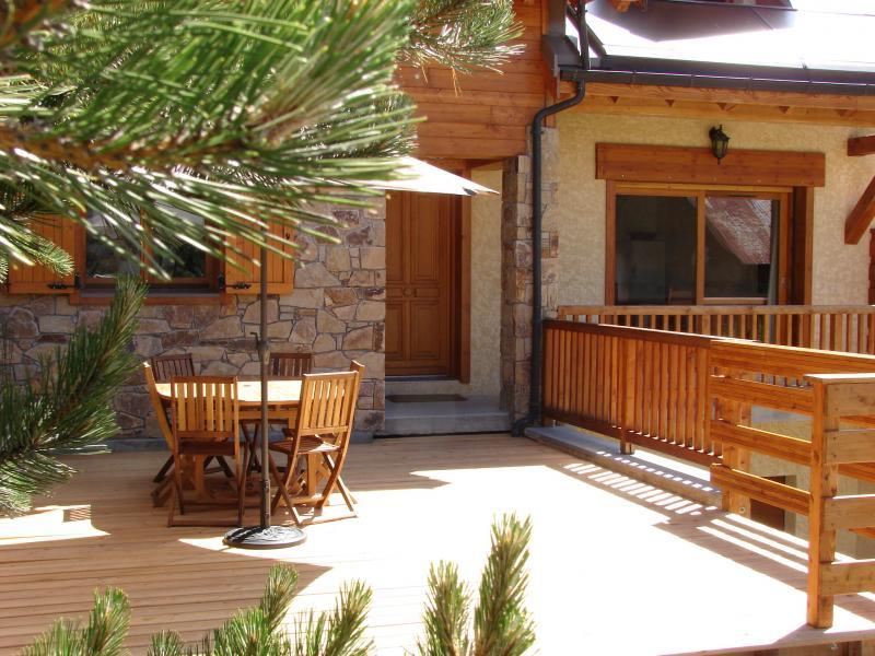 Terraza Alquiler Chalet 57805 Montgenevre