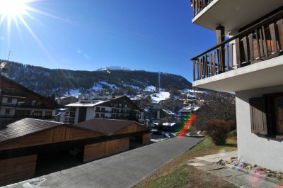 Vistas desde la terraza Alquiler Apartamento 58631 Haute-Nendaz