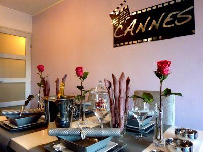 Sala de estar Alquiler Apartamento 58684 Cannes
