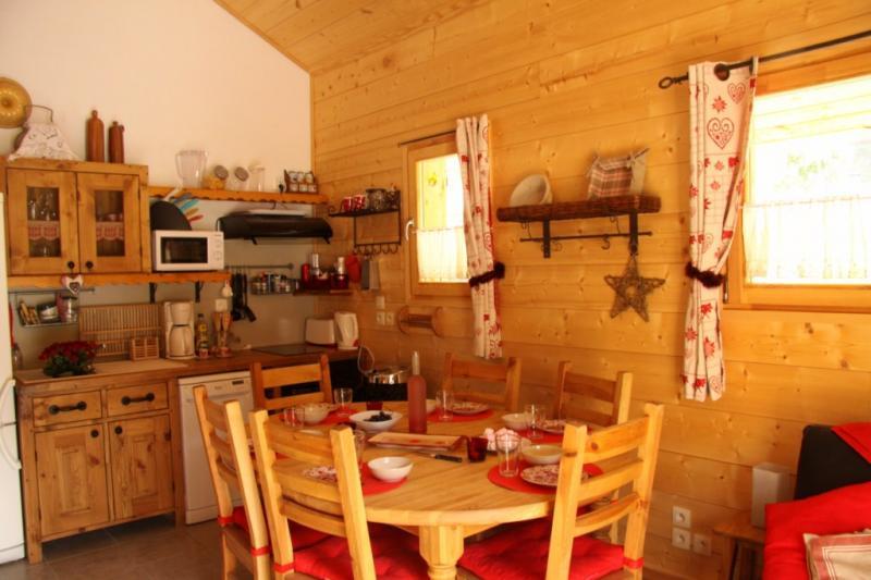 Cocina americana Alquiler Apartamento 59034 Saint Gervais Mont-Blanc