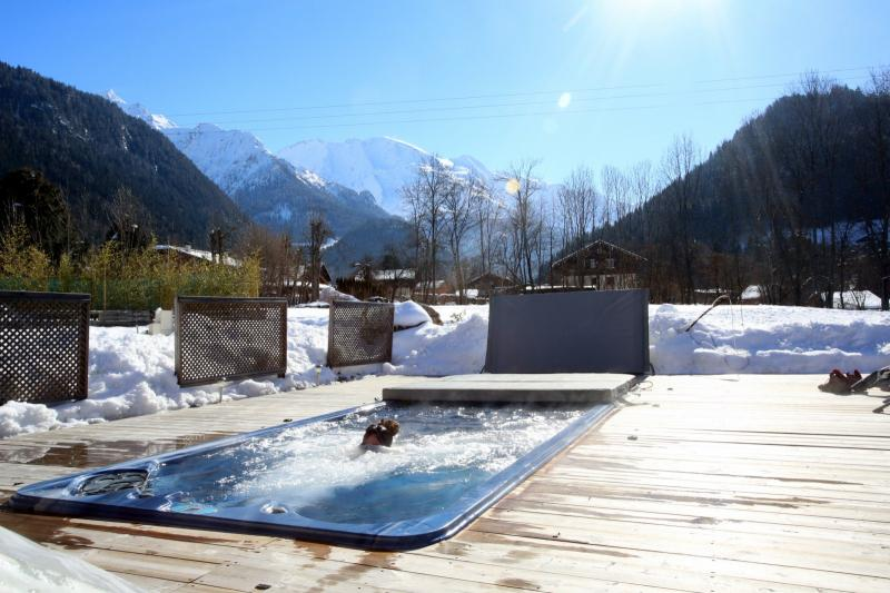 Vistas desde el alojamiento Alquiler Apartamento 59034 Saint Gervais Mont-Blanc