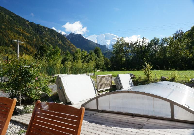 Vistas desde la terraza Alquiler Apartamento 59034 Saint Gervais Mont-Blanc