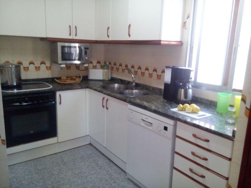Cocina de verano Alquiler Villa 59145 La Ampolla