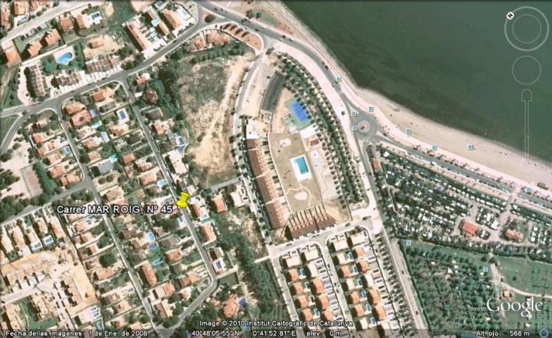 Vistas de las proximidades Alquiler Villa 59145 La Ampolla