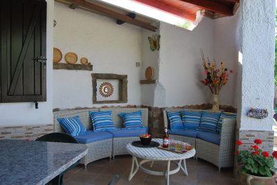 Veranda (Porche) Alquiler Villa 59840 Villasimius