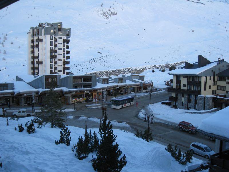Vistas desde el alojamiento Alquiler Apartamento 60012 Tignes