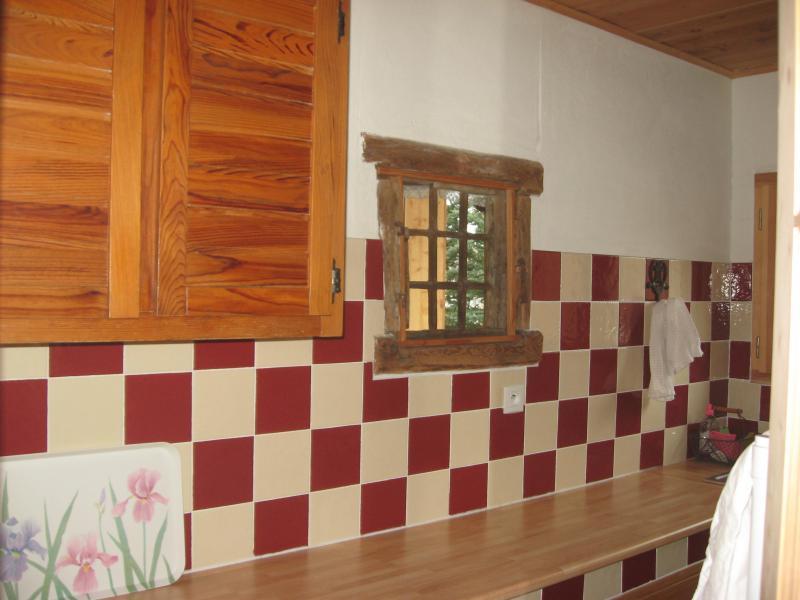 Cocina independiente Alquiler Apartamento 60120 Montgenevre