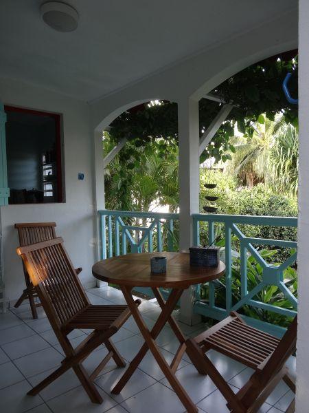 Vistas desde la terraza Alquiler Casa rural 60311 Sainte Anne (Guadalupe)