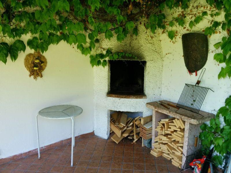 Cocina de verano Alquiler Villa 61113 Garda
