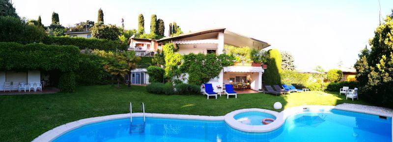 Vistas exteriores del alojamiento Alquiler Villa 61113 Garda