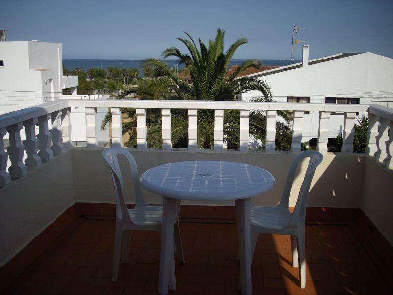Vistas desde el balcón Alquiler Villa 63018 La Ampolla