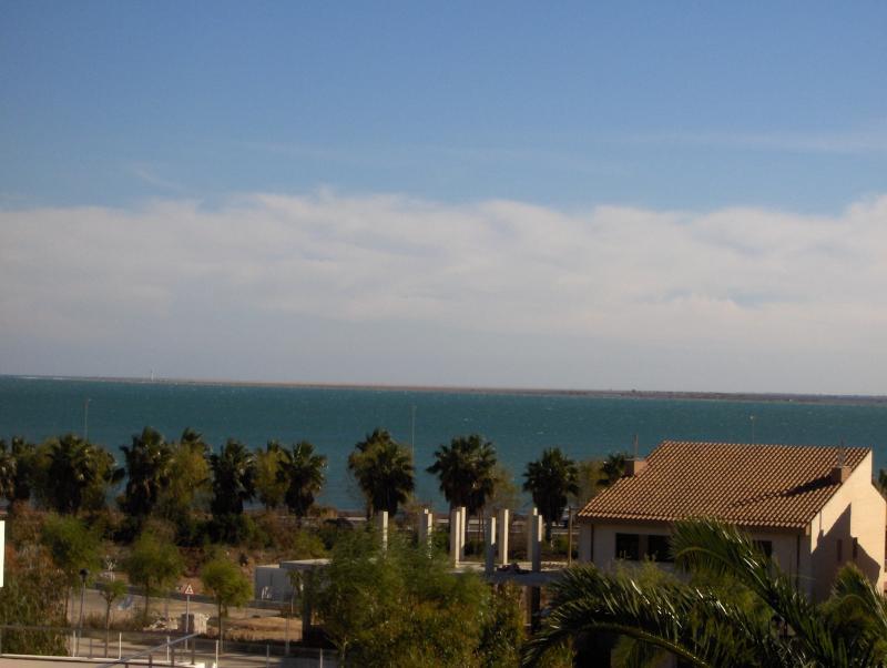 Vistas desde la terraza Alquiler Villa 63018 La Ampolla