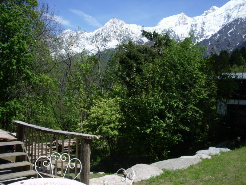 Terraza Alquiler Chalet 686 Chamonix Mont-Blanc