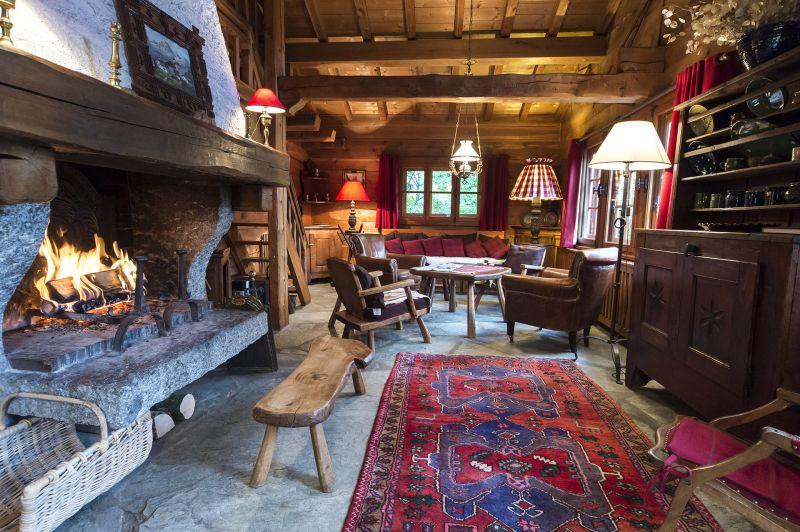 Sala de estar Alquiler Chalet 706 Chamonix Mont-Blanc