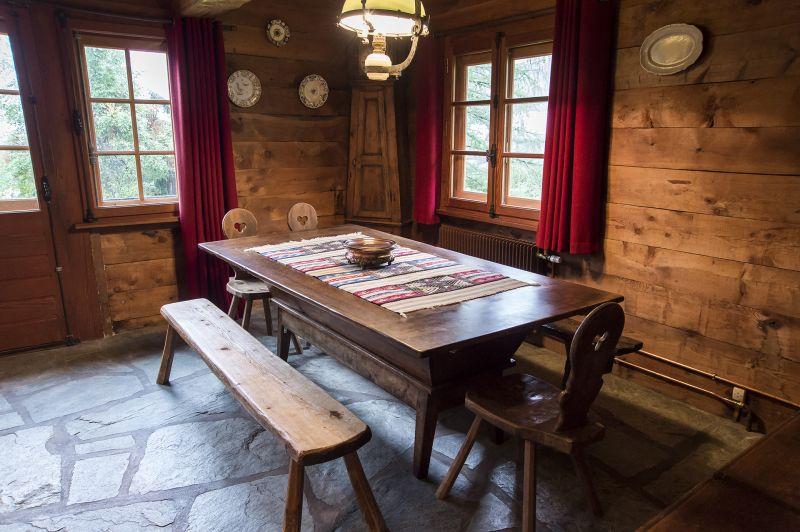Comedor Alquiler Chalet 706 Chamonix Mont-Blanc
