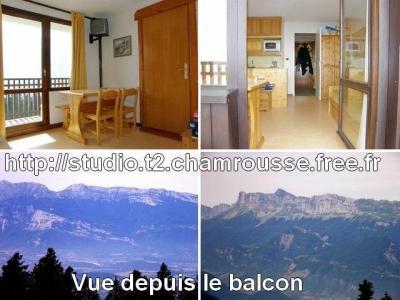 Vistas desde el alojamiento Alquiler Estudio 764 Chamrousse