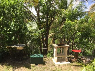 Jardín Alquiler Bungalow 8003 Gosier (Guadalupe)