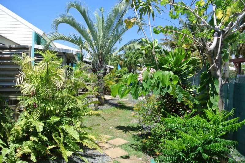 Jardín Alquiler Bungalow 8023 Sainte Anne (Guadalupe)