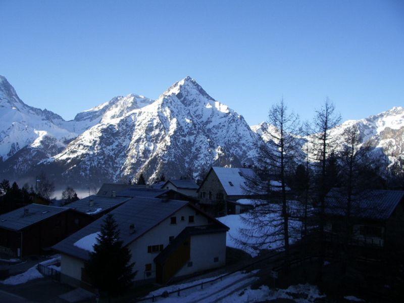 Vistas desde el balcón Alquiler Apartamento 111741 Les 2 Alpes