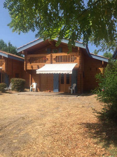 Vistas exteriores del alojamiento Alquiler Chalet 113003 Mimizan