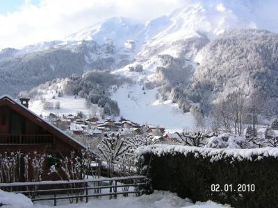 Vistas desde la terraza Alquiler Estudio 73809 Les Contamines Montjoie
