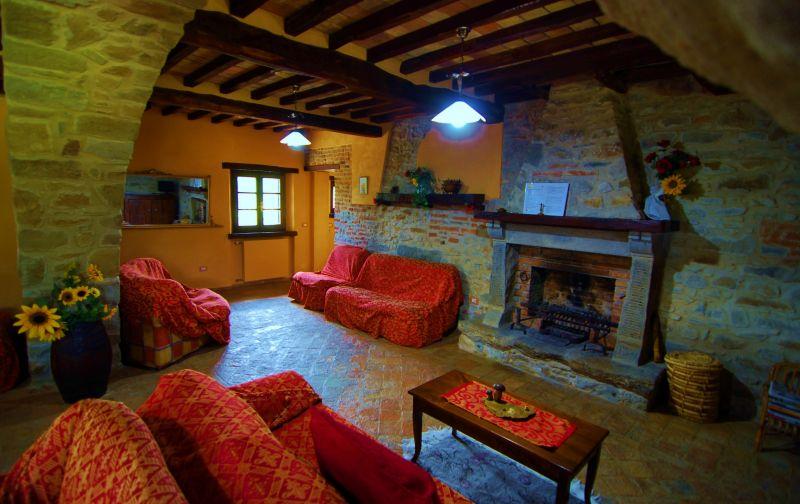 Sala de estar Alquiler Casa 79432 Cortona