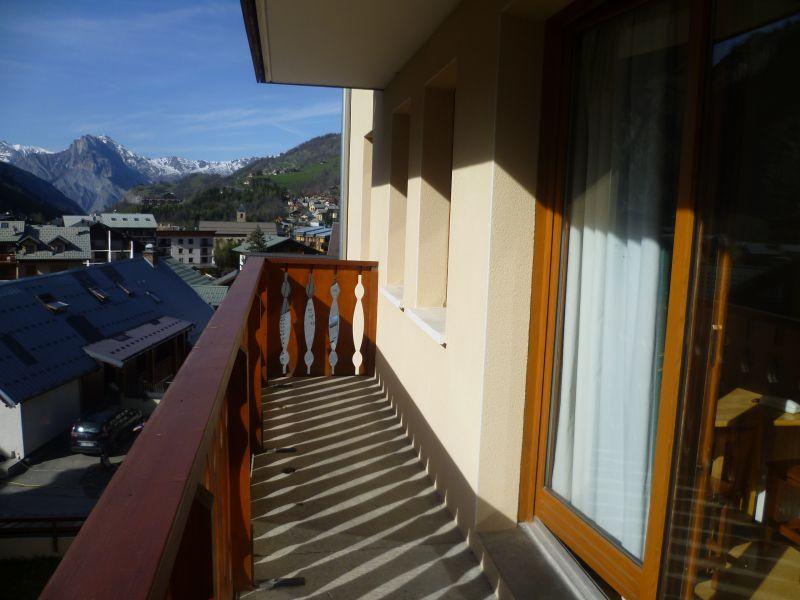 Vistas desde el balcón Alquiler Apartamento 97230 Valloire