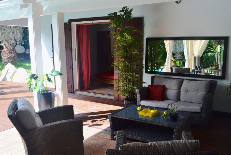 Terraza Alquiler Villa 101258 Saint Francois