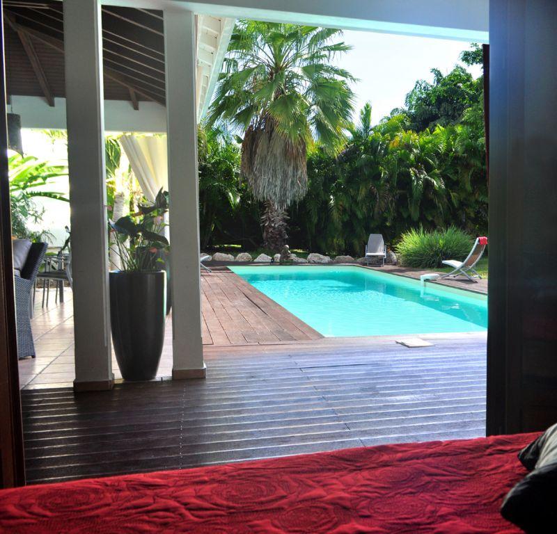 Vistas desde el alojamiento Alquiler Villa 101258 Saint Francois