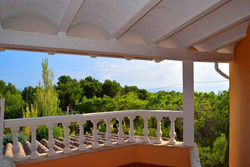Vistas desde la terraza Alquiler Casa 101313 La Ametlla de Mar