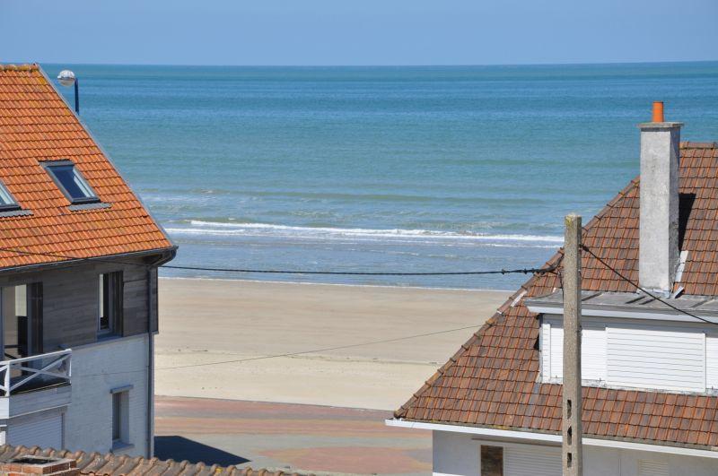 Vistas desde la terraza Alquiler Estudio 88543 Bray-Dunes