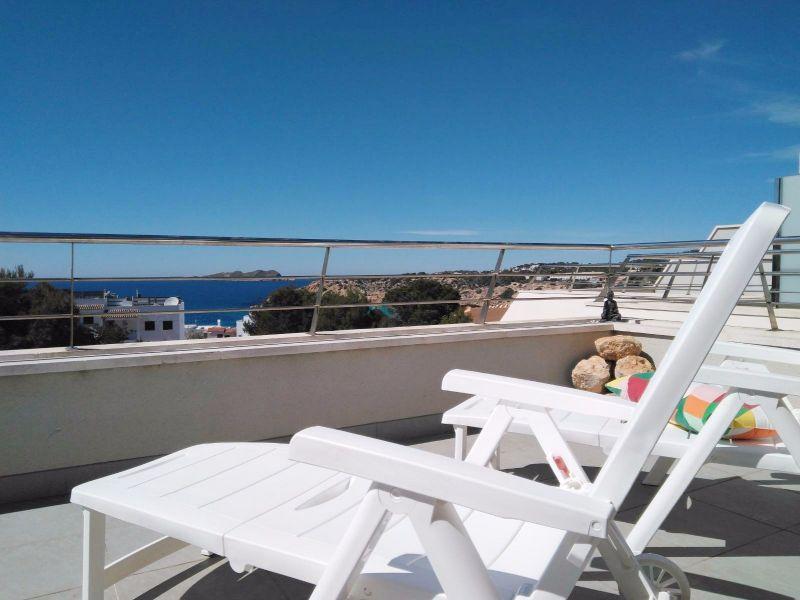 Terraza Alquiler Apartamento 108061 Cala Tarida