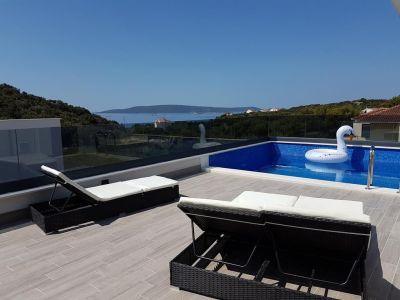 Terraza Alquiler Villa 114348 Trogir