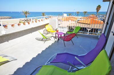 Vistas desde la terraza Alquiler Villa 78588 Sainte Marie la Mer