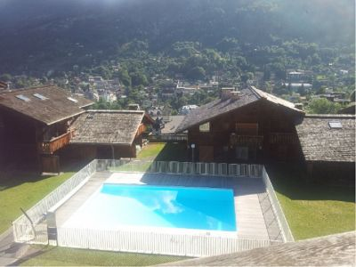 Vistas desde el balcón Alquiler Estudio 86819 Saint-Gervais-les-Bains