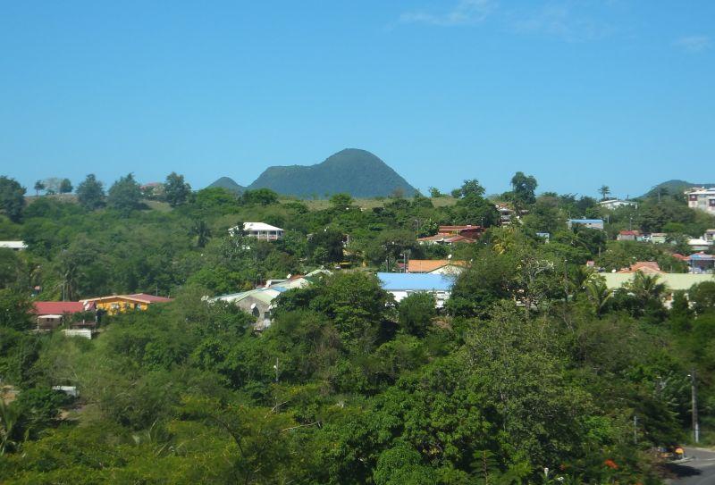 Vistas desde el alojamiento Alquiler Casa 106448 Le Diamant
