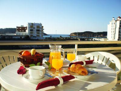 Vistas desde el balcón Alquiler Apartamento 74983 São Martinho do Porto