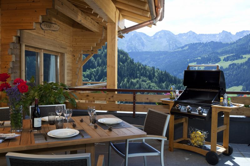 Terraza Alquiler Chalet 86535 Le Grand Bornand