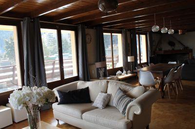 Sala de estar Alquiler Apartamento 73894 Pra Loup