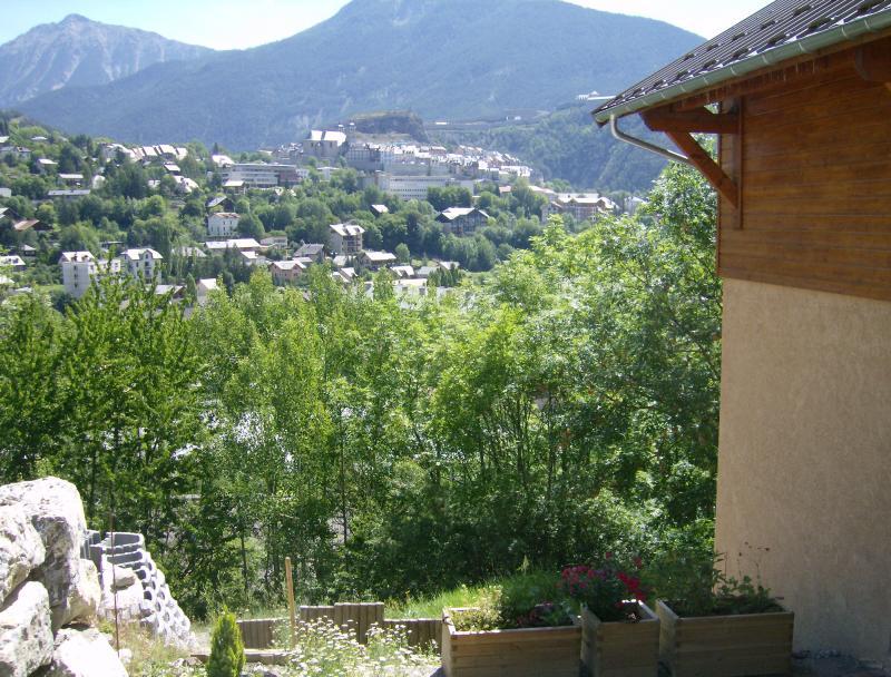 Vistas desde la terraza Alquiler Apartamento 81119 Briançon