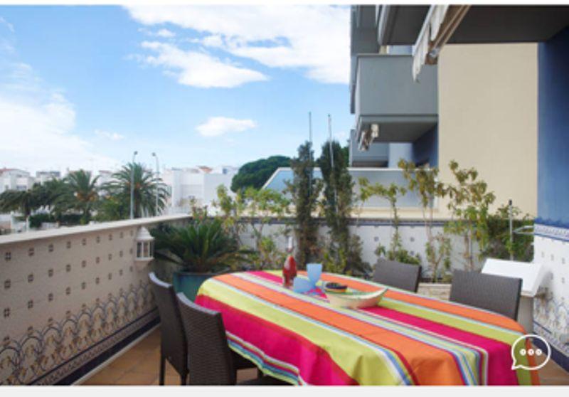 Vistas desde la terraza Alquiler Apartamento 8306 Rosas