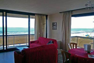 Sala de estar Alquiler Apartamento 9555 La Panne
