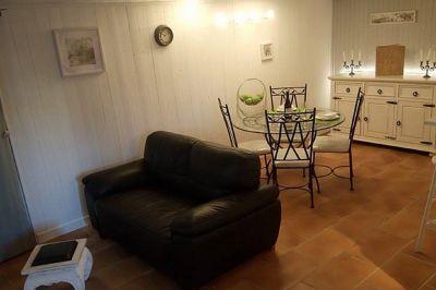 Sala de estar Alquiler Apartamento 104208 Antibes